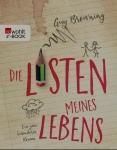 """Buchcover """"Die Listen meines Lebens"""" von Guy Browning."""